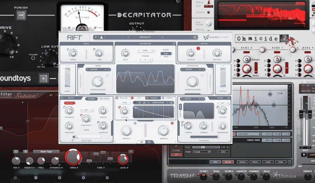 Top 5 Distortion Plugins for 2021